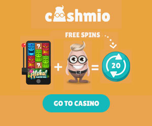 Cashmio Welcomebonus